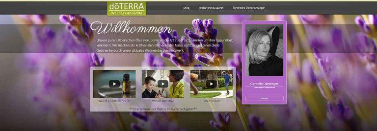 My doTERRA Wellness Advocate Cornelia Danninger - zum Shop und Direkteinkauf